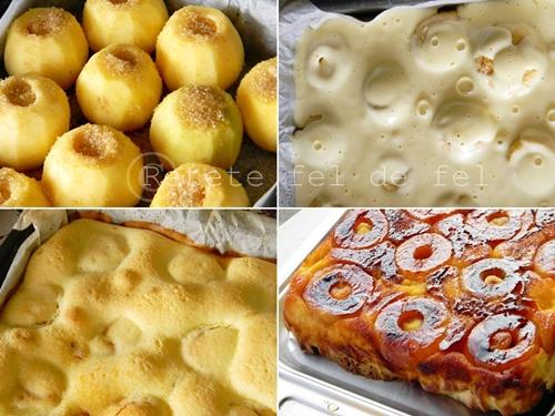 prajitura cu mere intregi