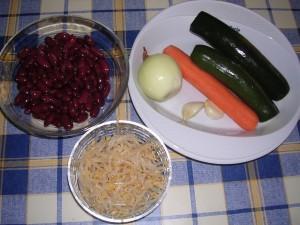 Ingrediente reteta piept de pui cu legume