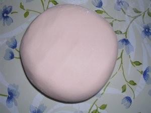 Pasta de marshmallow fondant