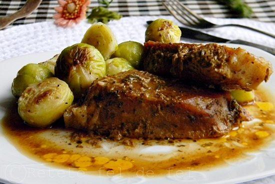 friptura aromata de porc la cuptor