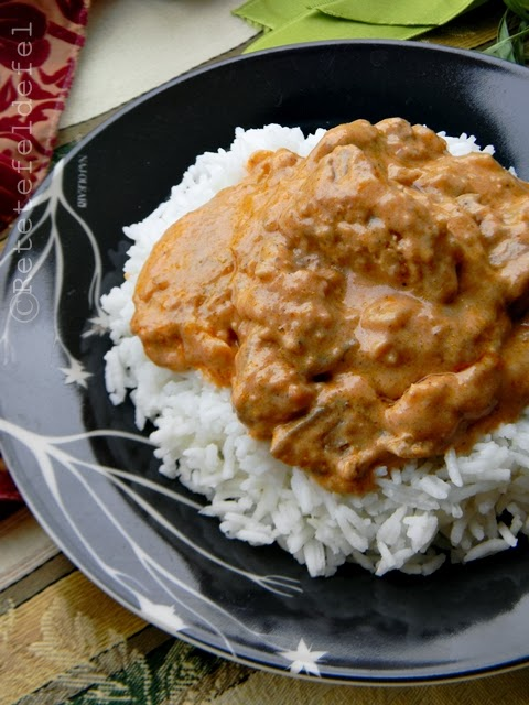 curry indian de pui cu unt