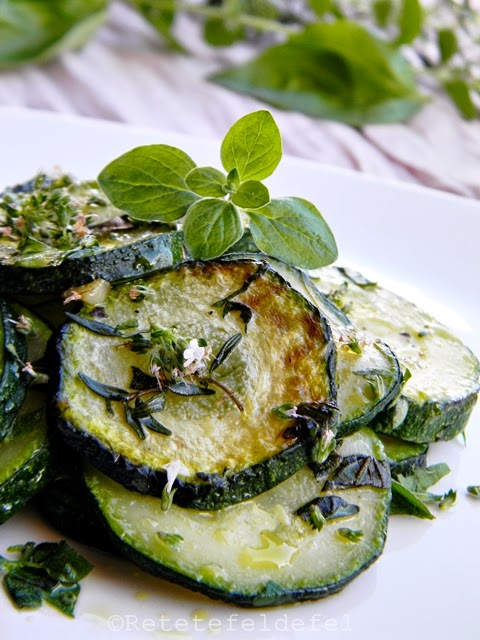 zucchini la tigaie