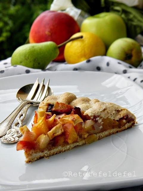 tarta rustica cu fructe