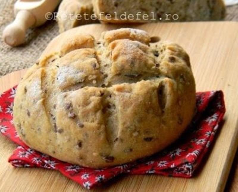 paine de kamut cu seminte