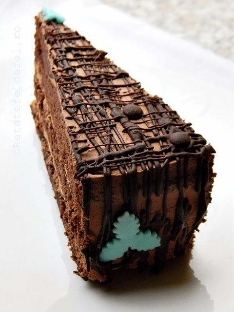 tort de ciocolata si rom