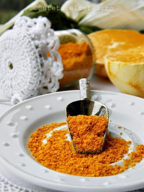 Pudra de coji de portocale
