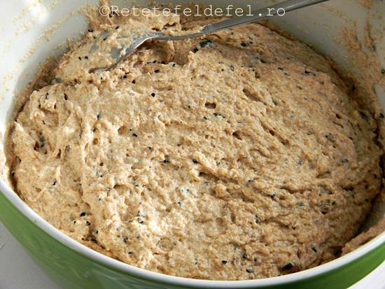paine integrala cu bicarbonat si seminte 009