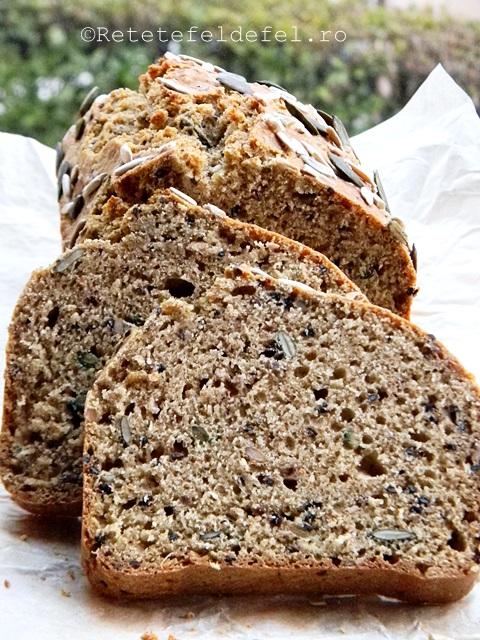 paine integrala cu bicarbonat si seminte 031