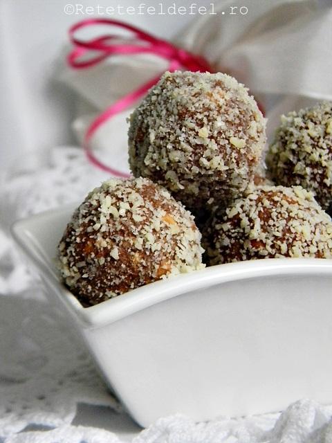 Bomboane de biscuiti si nutella