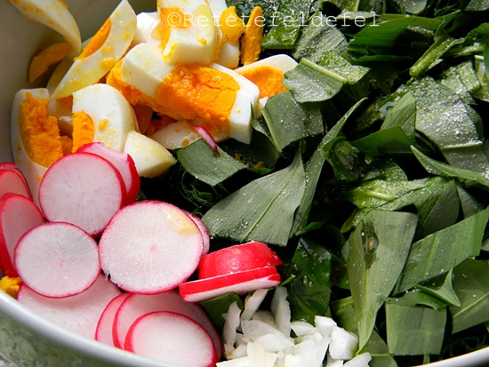 salata de leurda cu oua 006