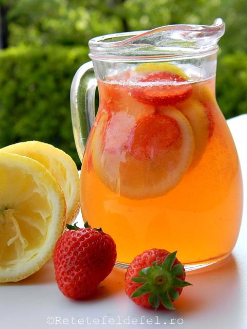 limonada de capsune