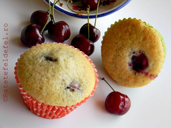 muffins cu cirese