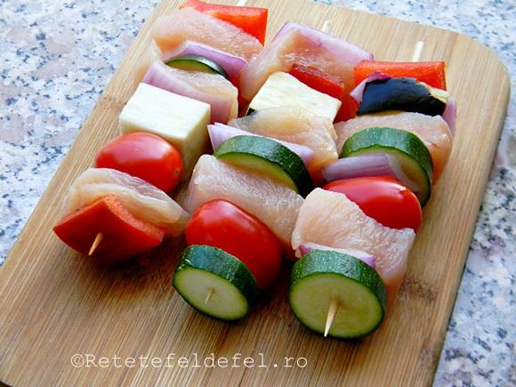 frigarui de pui cu legume 004