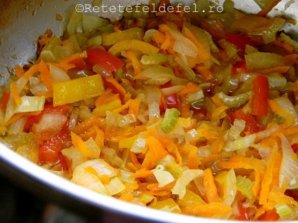 ciorba de legume cu spanac
