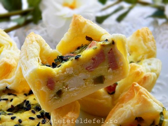 cosulete aperitiv din foietaj