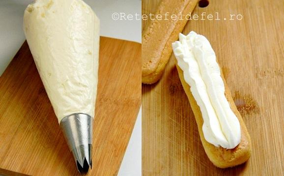 crema de mascarpone cu frisca
