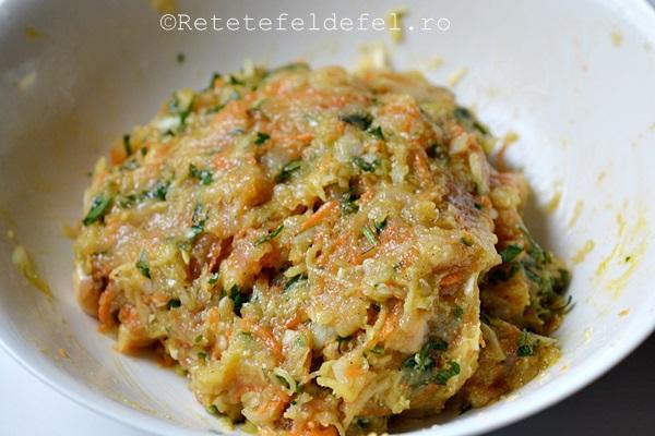 chiftele de pui in crusta de seminte