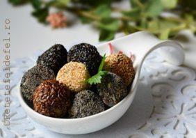 Chiftelute de pui in crusta de seminte