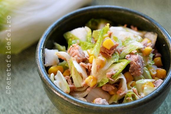salata de andive cu ton si porumb