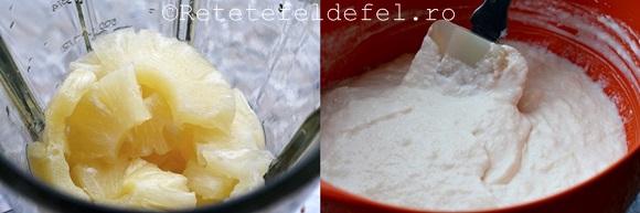 prajitura cu mousse de ananas