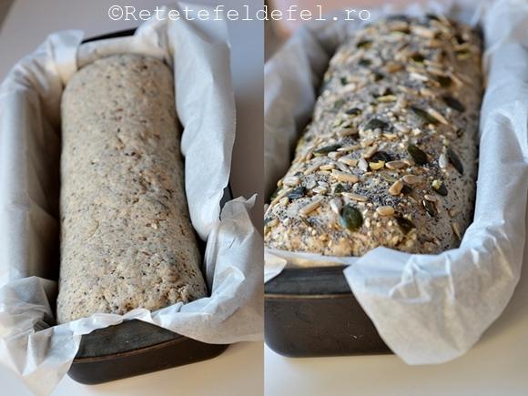 paine de secara cu seminte 2