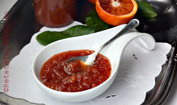 dulceata de portocale rosii