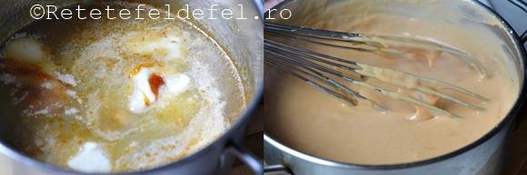 prajitura in foi cu crema caramel.jpg3