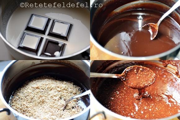 crema de ciocolata cu nuci