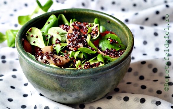salata de valeriana cu quinoa