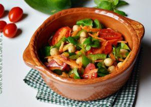 salata de naut cu legume