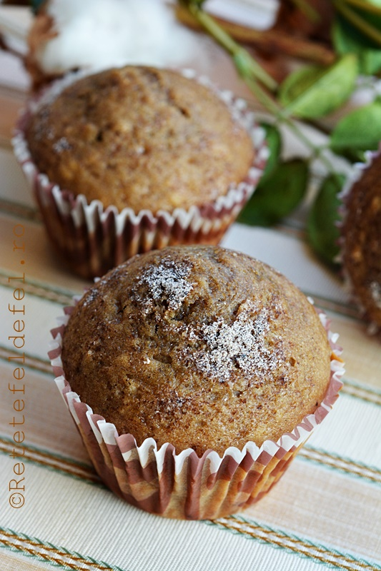 Cappuccino muffin with cum flovored icing - 5 2