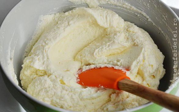 crema de mascarpone cu nuca de cocos