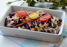 salata mixta de varza