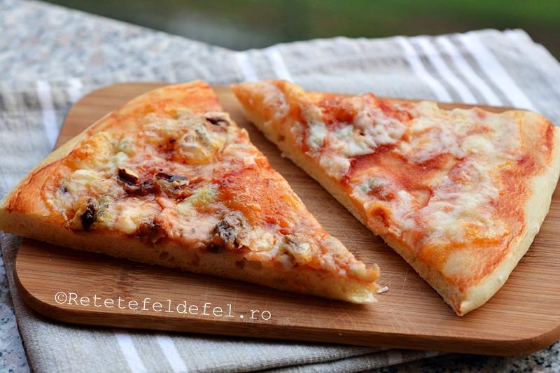 pizza cu gorgonzola