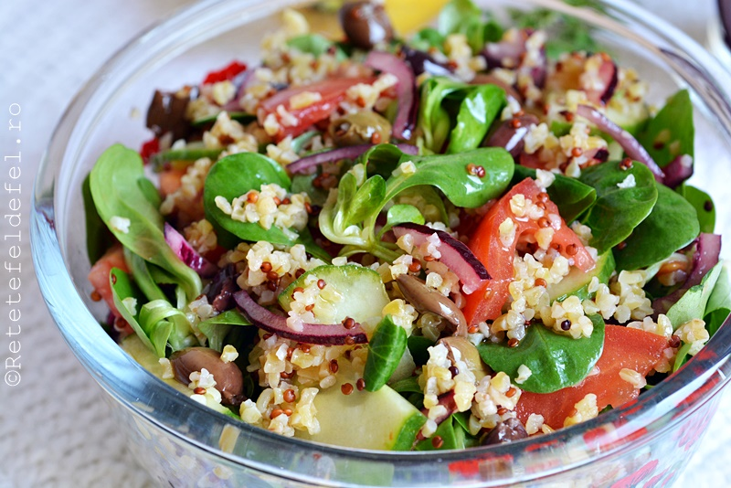 Salate quinoa
