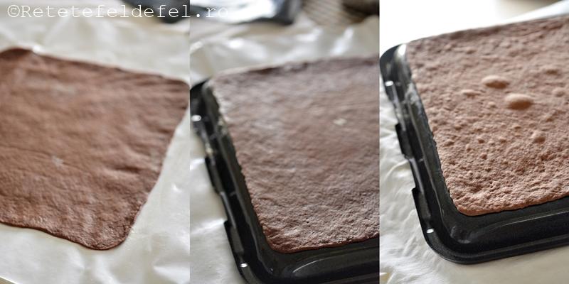 Foi cu cacao pentru prajituri
