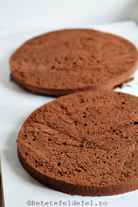 blat umed cu ciocolata
