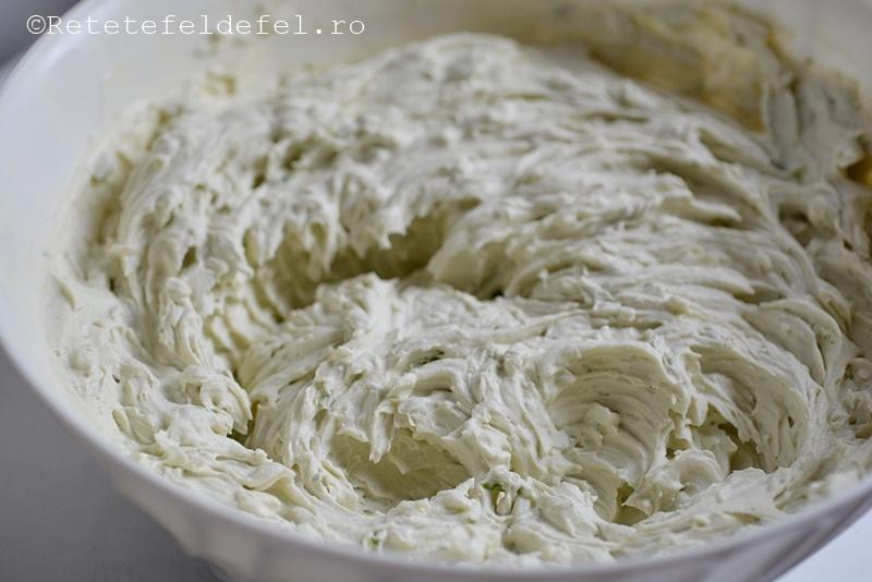 crema de mascarpone si lime