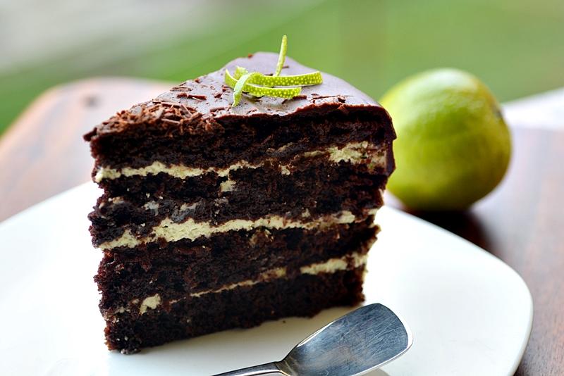 tort cu ciocolata si lime
