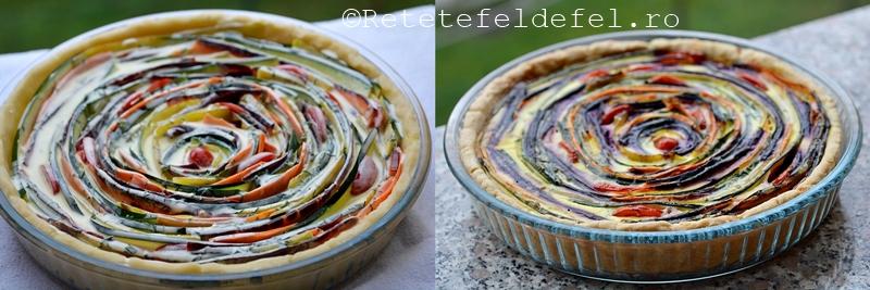 tarta cu legume si branza