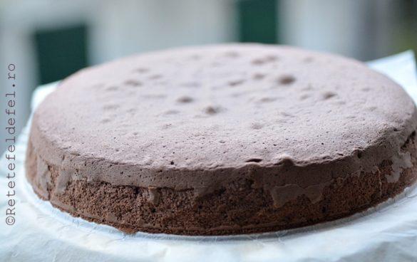 blat de tort cu cacao si amidon