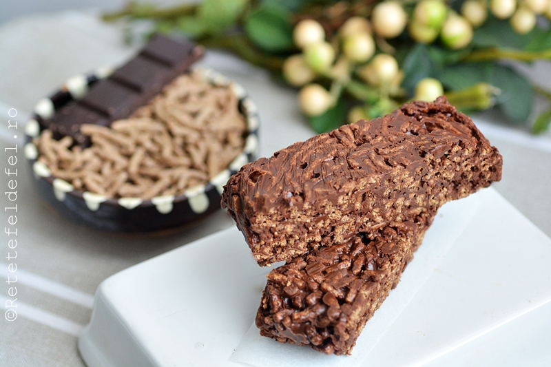 batoane de cereale si ciocolata