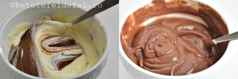 prajitura cu branza dulce si nutella