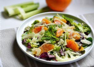 salata de fenicul cu portocale