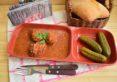 Chiftele din carne și legume în sos picant