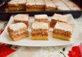 Prăjitura Figaro. Prăjitură cu gem acrișor și nuci.