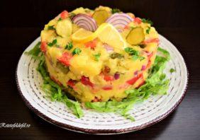 Salată orientală de post
