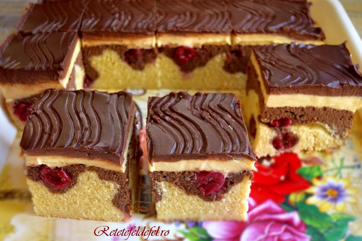 Prăjitura Valurile Dunării