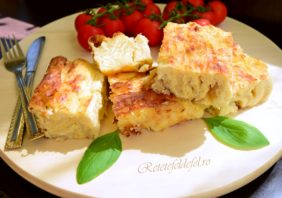 Plăcintă încrețită cu brânză sărată