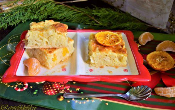 Plăcintă grecească cu portocale